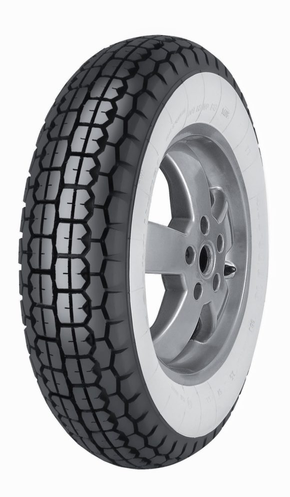 Anvelopa 3.50-8 B13 WHITEWALL 46J TT MITAS