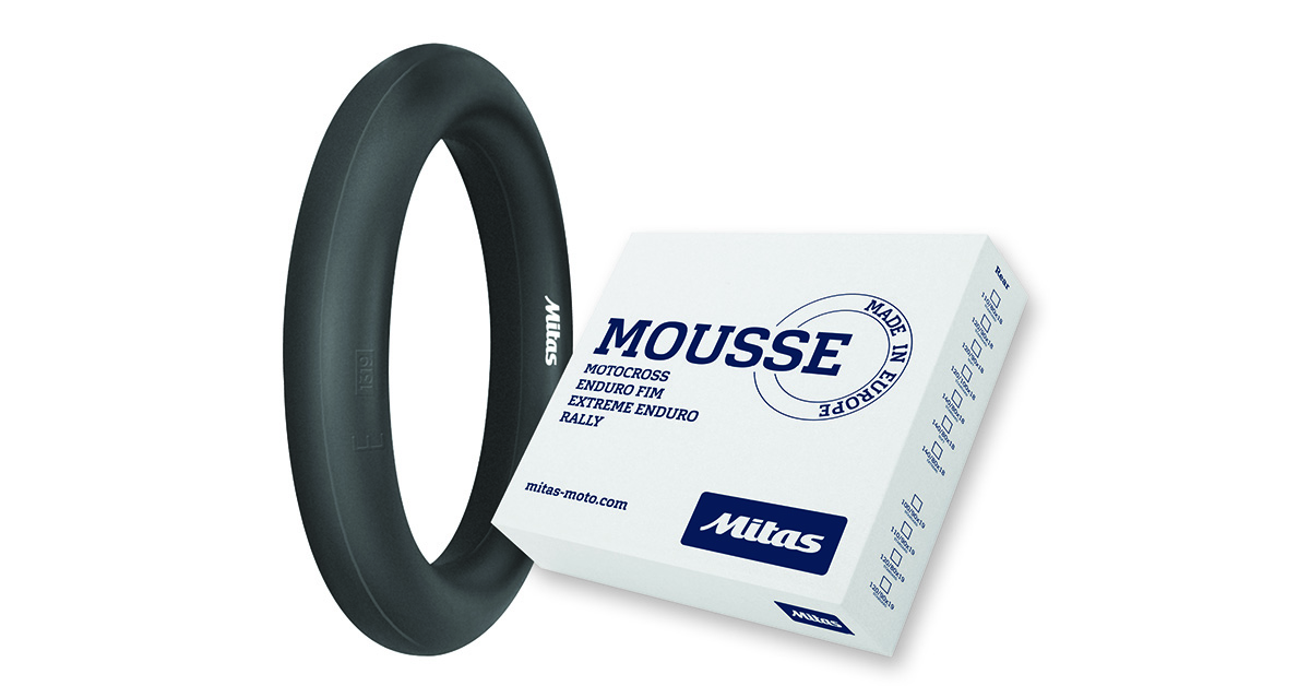 Mousse 100/90-19 CYLINDRICAL D1 STANDARD MITAS